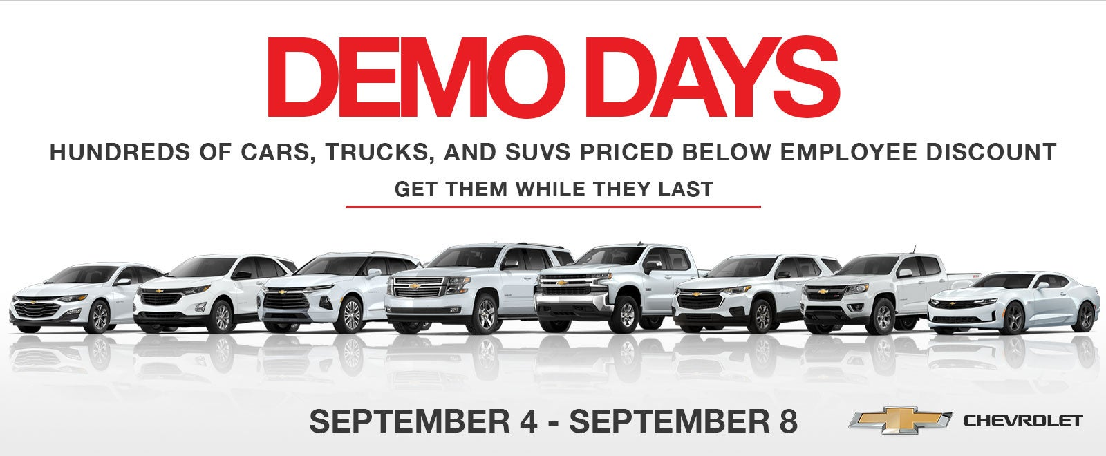 deals on demo cars